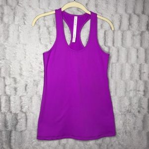 Lululemon Magenta Purple Cool Racerback Tank Top